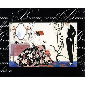 ''Souffle de Poudre'' by Anon Fashion Art Print (8 x 10 in.)