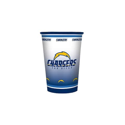 Nfl cup san diego chargers 2-pack (20 ounce)-nla