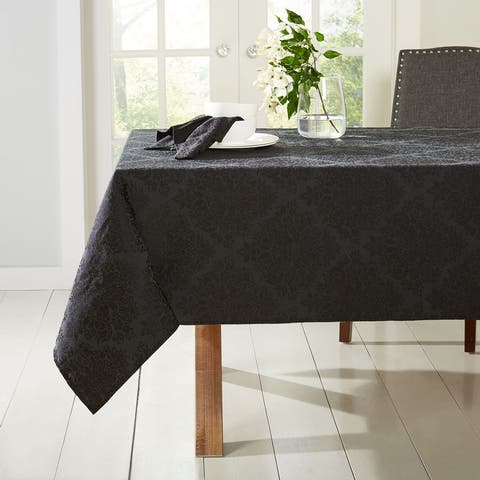 Town & Country Living Lexington Fabric Tablecloth