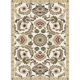 New Persian Floral Design Multi Color Polyester Bedroom Living Room Area Rug Carpet