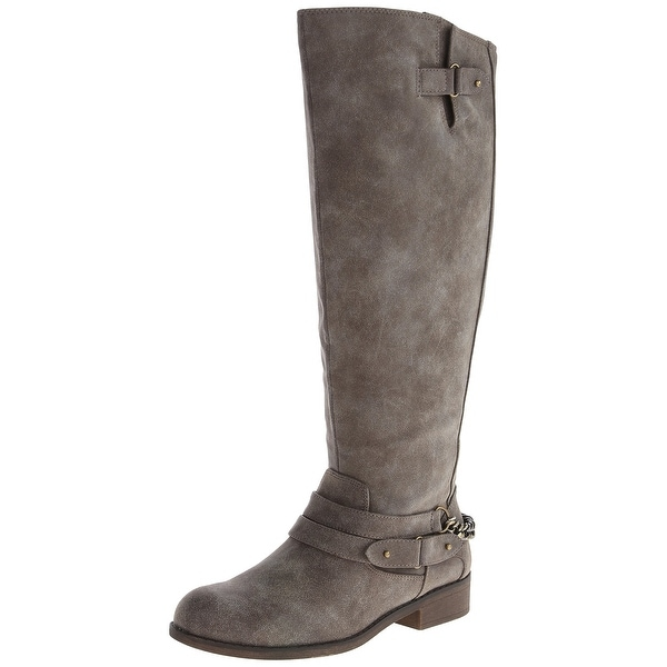Madden Girl NEW Gray Women's Shoes Size 6M Caanyon Riding Boot