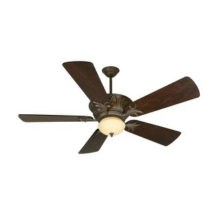 """Craftmade K10744 Pavilion 54"""" 5 Blade Indoor Ceiling Fan - Blades and Light Kit Included"""