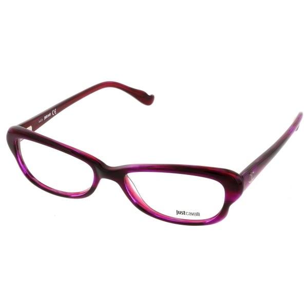 Just Cavalli JC0465/V 083 Dark Purple Rectangle Optical Frames