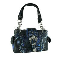 Moonlight Camo Western Buckle Concealed Carry Purse