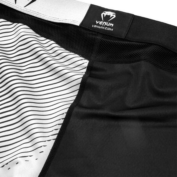 Black//White Venum Koi 2.0 Short Sleeve MMA Compression Rashguard