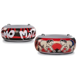 Medal Sports Jumbo Sumo Match Bumpers (Set of Two) Inflatable for Indoor/Outdoor - MultiColor