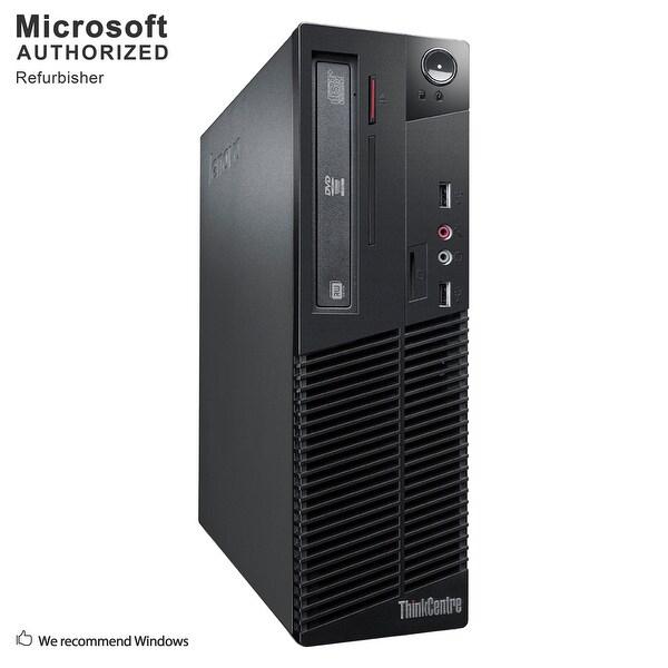 Lenovo M79 SFF, AMD A4-6300B 3.7GHz, 8GB DDR3, 500GB HDD, DVD, WIFI, BT 4.0, HDMI, W10H64 (EN/ES)-Refurbished