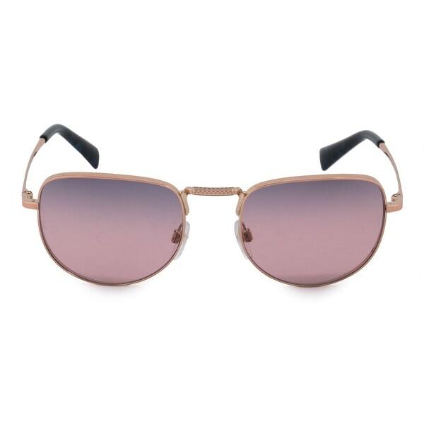 dfa45a0059c Shop Valentino Square Sunglasses VA2012 3004E6 49 - On Sale - Free ...