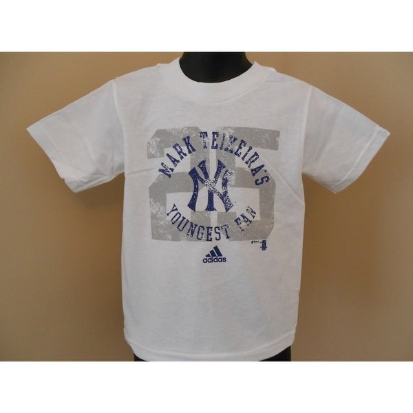 Shop Ny Yankees Mark Teixeira Youngest Fan Toddler 3T T-Shirt Adidas - On  Sale - Free Shipping On Orders Over  45 - Overstock - 23064594 c692cfa77f7