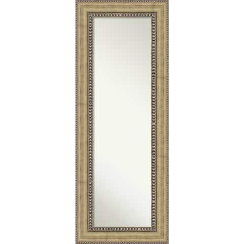 On The Door Full Length Wall Mirror, Astoria Champagne 21 x 55-inch - 55 x 21 x 1.196 inches deep