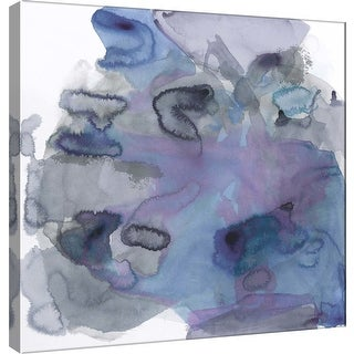 """PTM Images 9-100930  PTM Canvas Collection 12"""" x 12"""" - """"Amorphous H"""" Giclee Abstract Art Print on Canvas"""