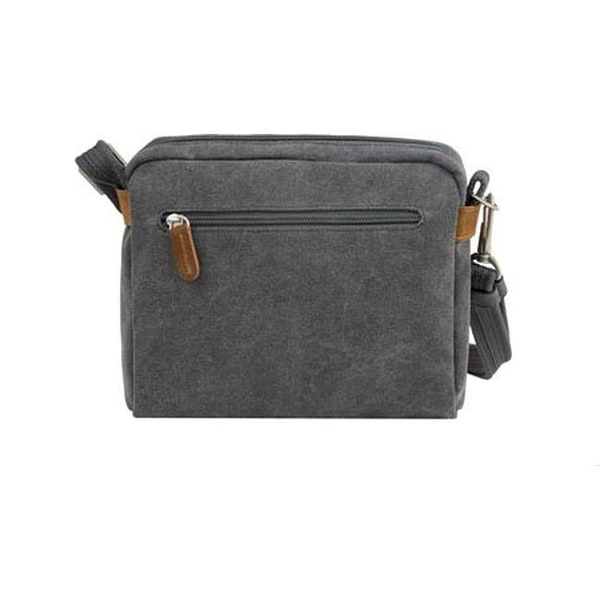 0863720d4d0 Shop Travelon Anti-Theft Heritage Crossbody Bag Pewter - US One Size (Size  None) - On Sale - Free Shipping Today - Overstock - 25692022