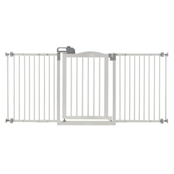 Shop Richell One Touch Wide Pressure Mounted Pet Gate Ii