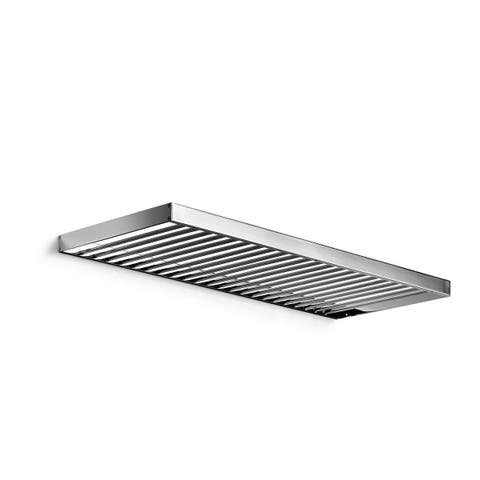 """WS Bath Collections Skuara 52846.29 23.6"""" x 5.3"""" Towel Shelf from the Skuara Collection"""