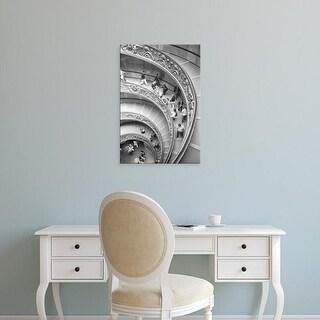 Easy Art Prints Walter Bibikow's 'Vatican Staircase' Premium Canvas Art