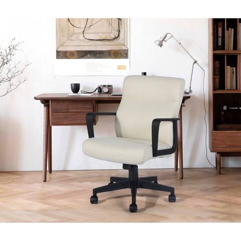 FurnitureR Modern Fabric Office Chair
