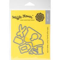 Waffle Flower Die-Gift Wrapper