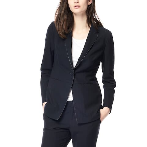 Ecru Blazer With Baby Chain Pant