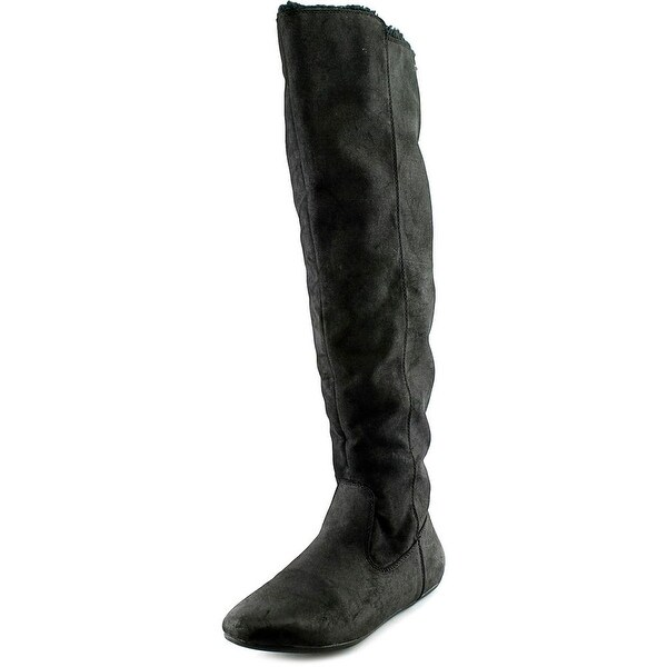Roxy Shawnee Women  Round Toe Synthetic Black Over the Knee Boot