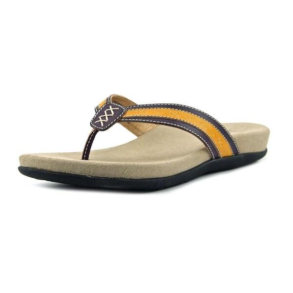 L'Artiste Turnberry Women Open Toe Leather Thong Sandal