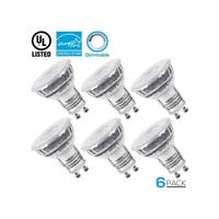 Dimmable GU10 LED Light Bulb, 5000K Daylight, Pack of 6