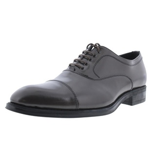 Kenneth Cole Reaction Mens Crowd Pleaser Leather Formal Cap Toe Oxfords - 7.5 medium (d)