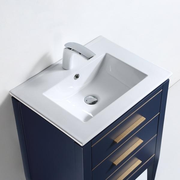 "Ayer 24"" Single Bathroom Vanity Set. Opens flyout."
