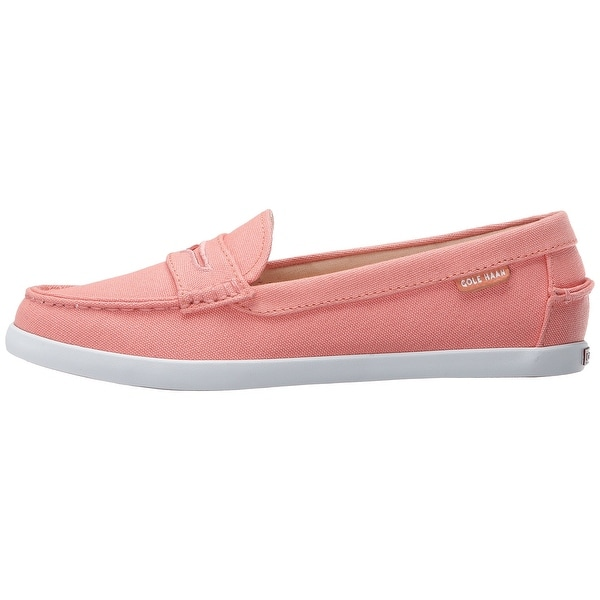 Cole Haan Womens pinch weekender Canvas Round Toe Loafers