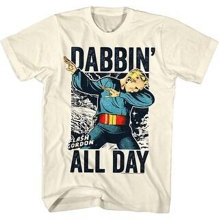 Flash Gordon Dabgordon Mens Crew Tee T Shirt