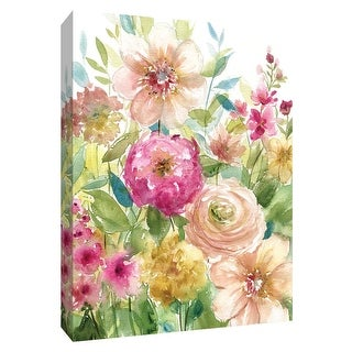 """PTM Images 9-148660  PTM Canvas Collection 10"""" x 8"""" - """"Bloomin Pretty"""" Giclee Flowers Art Print on Canvas"""