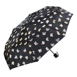 Women's Butterfly Full Color Changing Travel-Sized Umbrella