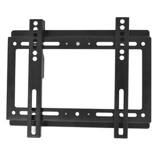 "Black Metal TV Plasma Panel Screw Fixed Bracket for 14""-32"" LCD"