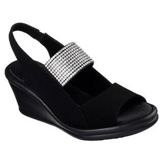 Skechers Women's RUMBLERS-SPARKLE ON Sandals