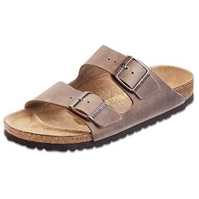 Birkenstock Arizona Sandal, Tobacco Oiled, 10-10.5 Women/8-8.5 Men