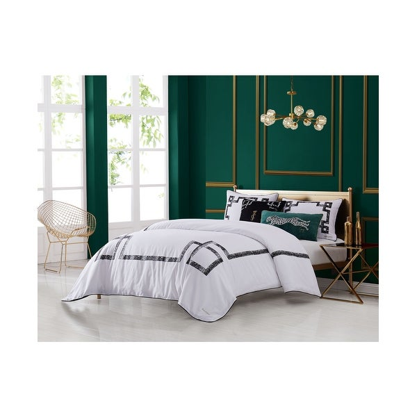 Juicy Couture Lattice Three Piece Comforter set. Opens flyout.