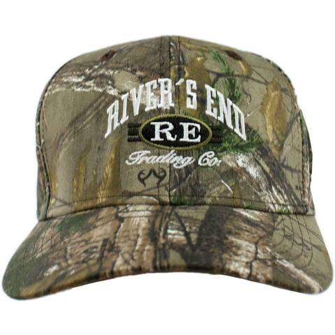River's End Womens Camo Cap Athletic Hats Baseball