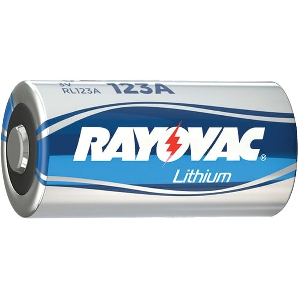 Rayovac Rl123A-1 3-Volt Lithium 123A Photo Battery (Single)