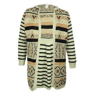 American Rag Women's Hooded Cardigan Sweater - 1x