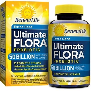 Renew Life Ultimate Flora Extra Care 50 Billion - 60 Capsules