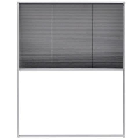 "vidaXL Plisse Insect Screen for Windows Aluminum 31.5""x39.4"""