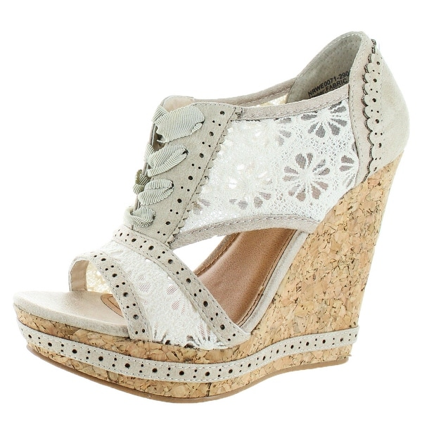 Not Rated Catalonia Women's Wedge Sandal Shoes