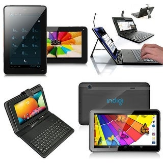 Indigi® Dual-Core 7.0inch Android 4.2 JellyBean 2-in-1 SmartPhone + TabletPC w/ Dual-Cameras + WiFi + Keyboard Case Included