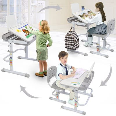 Children Learning Table And Chair Set