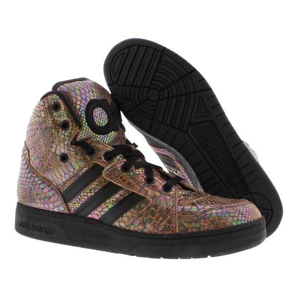 new arrive cute best shoes Shop Adidas Jeremy Scott Instinct Hi Rainbow Men's Shoes - 8.5 D(M ...
