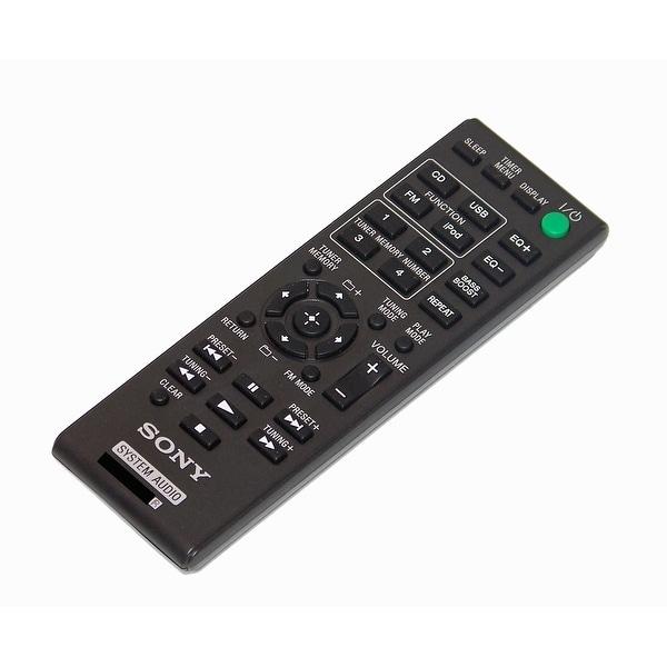 OEM Sony Remote Control Originally Shipped With: HCDEC619IP, HCD-EC619IP, MHCEC619IP, MHC-EC619IP