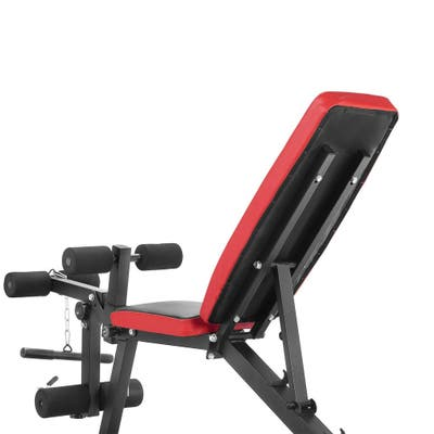 Zenova Adjustable Weight Bench, Multi-Purpose Flat Incline Decline Exercise Workout Bench for Home Gym - N/A