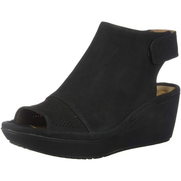 95c63d7ccb1d Shop CLARKS Womens Wynnmere abie Wedge Sandal - Free Shipping Today ...
