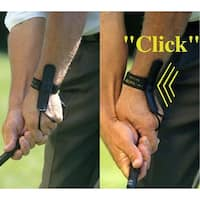 Tac Tic 2 Piece Wrist Over Glove & Elbow Bundle Golf Swing Training Aid Tactic