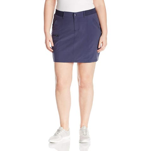 Lee Women's Petite Active Performance Everly Skort, Voyage,, Voyage, Size 10.0 - 10