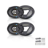 "6"" x 9"" 360W 3-Way Coaxial Speaker - Pair"
